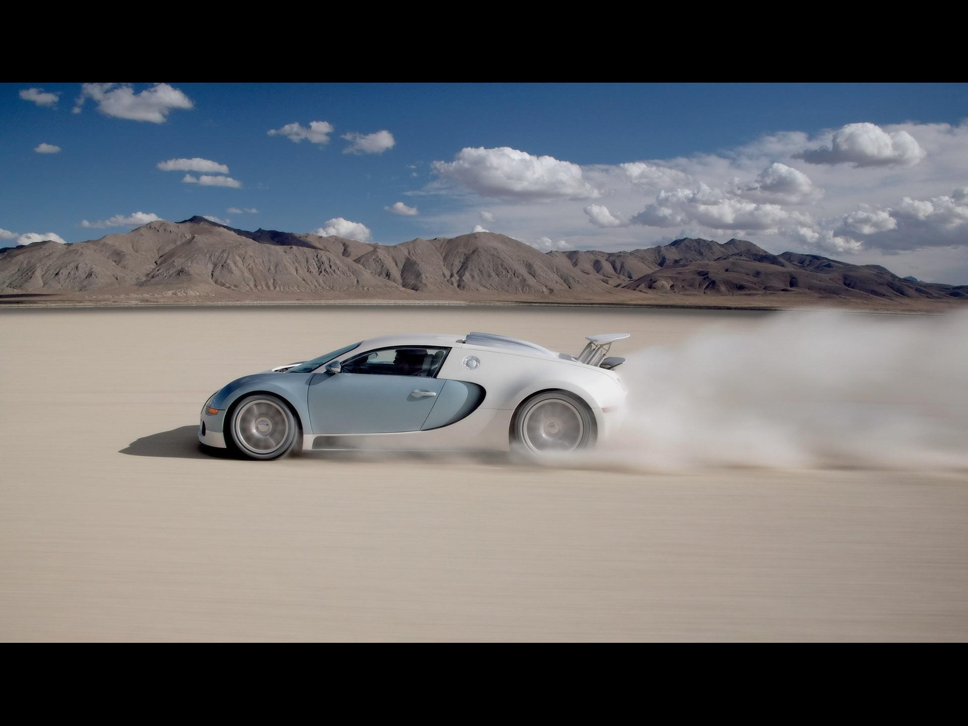 Bugatti Veyron W16 Engine Cutaway Diagram Targa Florio Salt Flats 1920x1440